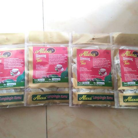teh pelangsing herbal