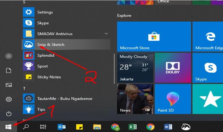 Cara Ambil Screenshot Di Laptop Asus 1