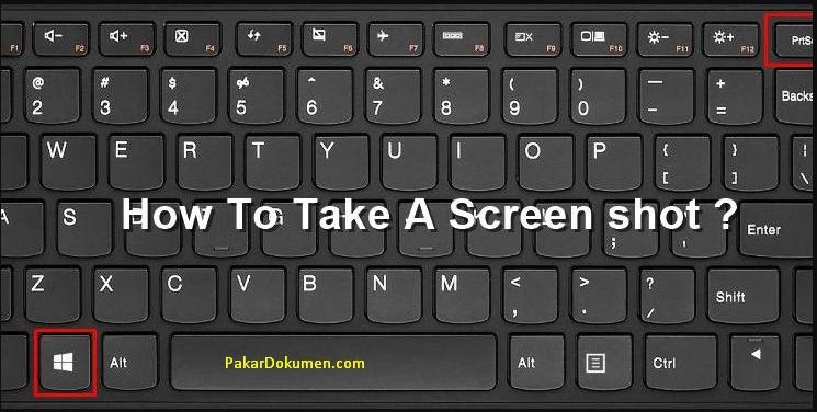 Cara Ambil Screenshot Di Laptop Asus