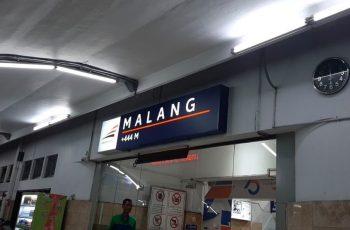 Fakta Mengenai Gerbong Kereta Meluncur Sendiri Dari Stasiun Malang