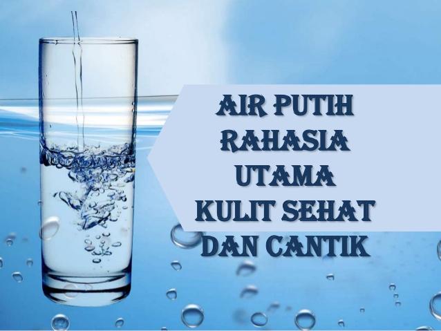 Manfaat Minum Air Putih Untuk Kecantikan