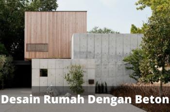 Desain Rumah Minimalis dengan Beton sinanarsitek.com