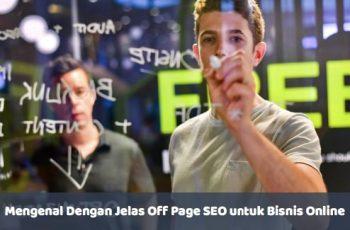 Off Page SEO untuk Bisnis Online - seobigbang