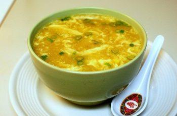 cara membuat sup jagung telur